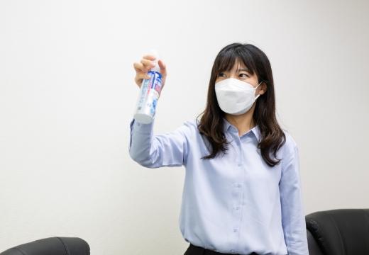 ウイルス細菌除菌スプレーでの空気清浄